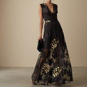Evening maxi dress for holiday / party